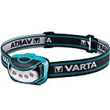Varta 4 x 5 mm LED Outdoor Sports Head Light H10 (inkl. 3x High Energy AAA...