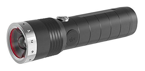 Ledlenser MT14, LED Taschenlampe, wiederaufladbar, fokussierbar, mit Akku,...