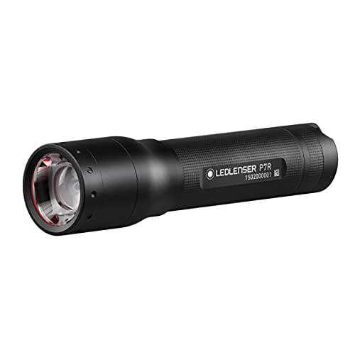 Ledlenser P7R LED Taschenlampe, fokussierbar, wiederaufladbar, mit Akku,...