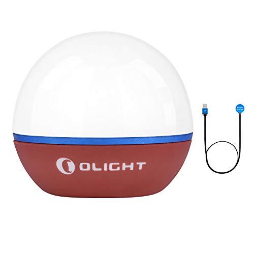 OLIGHT Obulb LED Birne Lampe 55 Lumen Warmweiß LED 2700K und Rote LED...