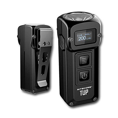 Nitecore TUP Mini Taschenlampe - 1000 Lumen LED - Schlüsselanhänger mit...