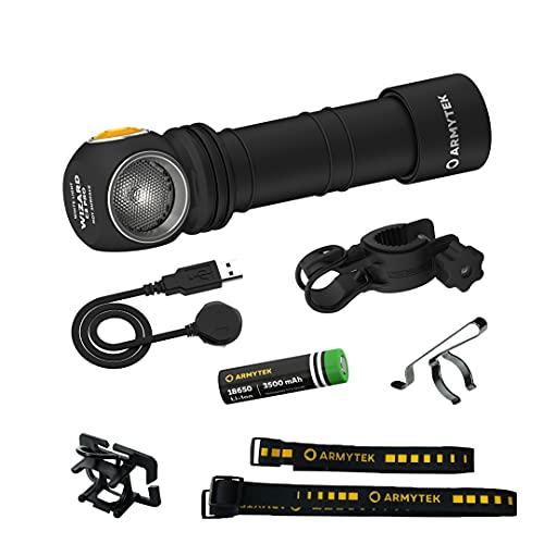 Armytek Neu LED-Kopflampe Wizard C2 Pro DE v4 XHP50.2 Kaltweiss LED...