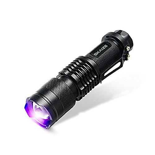 Skaize Schwarzlicht Taschenlampe UV LED-Handlampe Prüfgerät (395nm,...