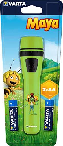 VARTA die Biene Maja Taschenlampe, geeignet für Kinder inkl. 2x Longlife...