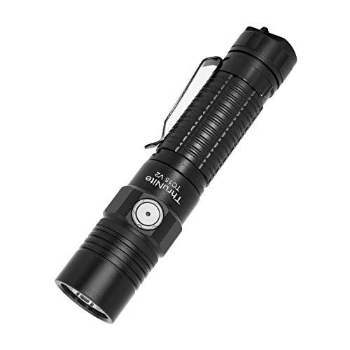 ThruNite TC15 V2 LED Taschenlampe, Superhell 2500 lumens USB Aufladbar...