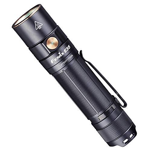 FENIX Unisex-Adult E35 V3.0 21700 Powered Flashlight Taschenlampe, Schwarz,...