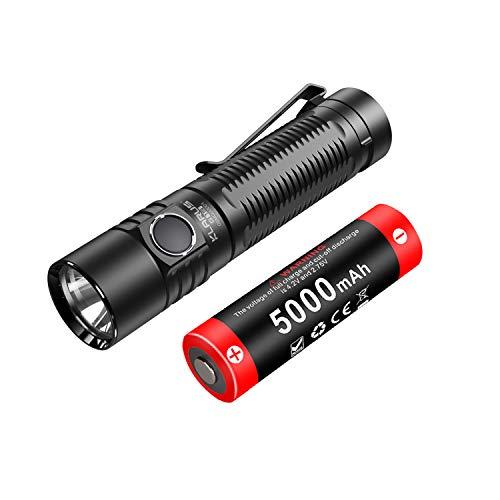 Klarus G15 4000 Lumen Ultrahelle kompakte wiederaufladbare...
