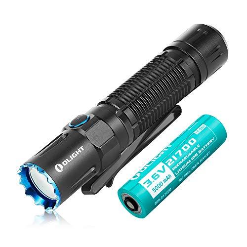 OLIGHT M2R PRO Warrior Taschenlampe 1800 Lumen 300 Meter Reichweite, 21700...