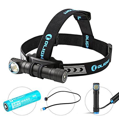 Olight® H2R Nova 18650 LED Stirnlampe Kopflampe Taschenlampe aufladbar mit...*