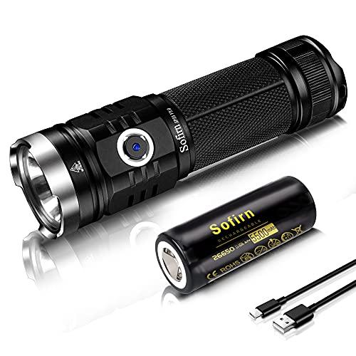 Sofirn SP33 V3.0 Led Taschenlampe Max 3500 Lumen wiederaufladbare Lampe,...
