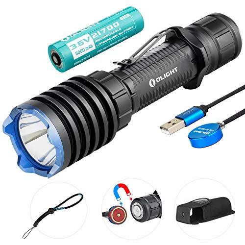 Olight Warrior X Pro Taktische Taschenlampe 2100 Lumen / 500 Meter Neutral...