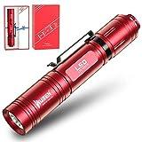 WUBEN Taschenlampe L50 (Rote Limited Edition) LED-Taschenlampe...