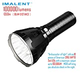 IMALENT MS18 LED Superhelle Taschenlampe 100.000 Lumen, 18 Stück Cree...