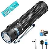 Olight S2R II Taschenlampe 1150 Lumen / 135 Meter Kaltes Weiß LED USB...