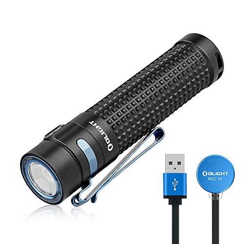 OLIGHT S2R Baton II LED Taschenlampe Aufladbar 1150 Lumen 135 Meter...