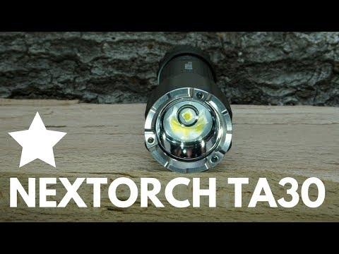 Nextorch TA30 Taktische Taschenlampe im Review