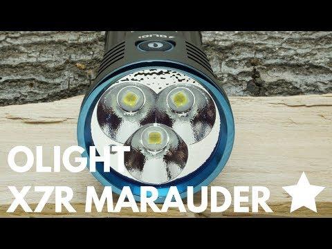 Olight X7R Marauder im Review
