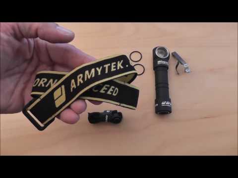 Olight H1R Nova und Armytek Wizard Pro USB im Review