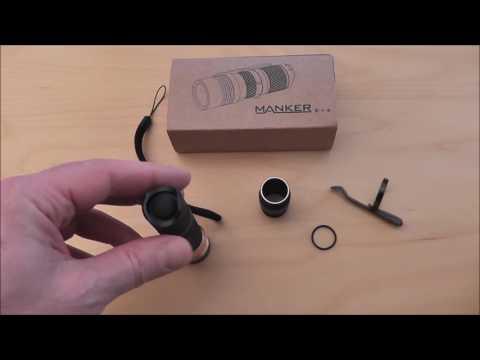 Die Manker E14 LED Taschenlampe im Review