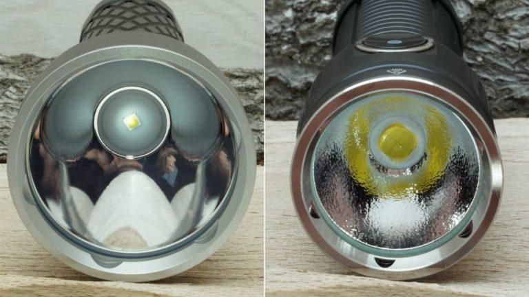 Reflektor von Thrower und Flooder im Vergleich