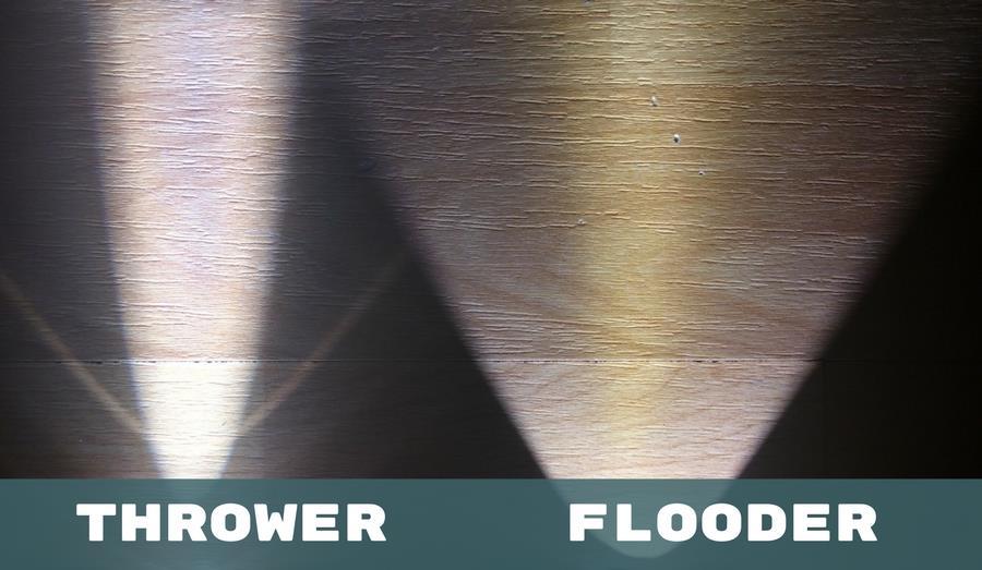 Thrower versus Flooder im Vergleich