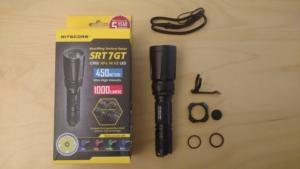 Nitecore SRT7GT LED Taschenlampe mit Verpackung