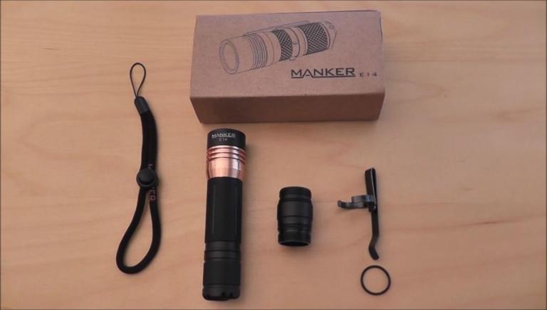 Manker E14 LED Taschenlampe