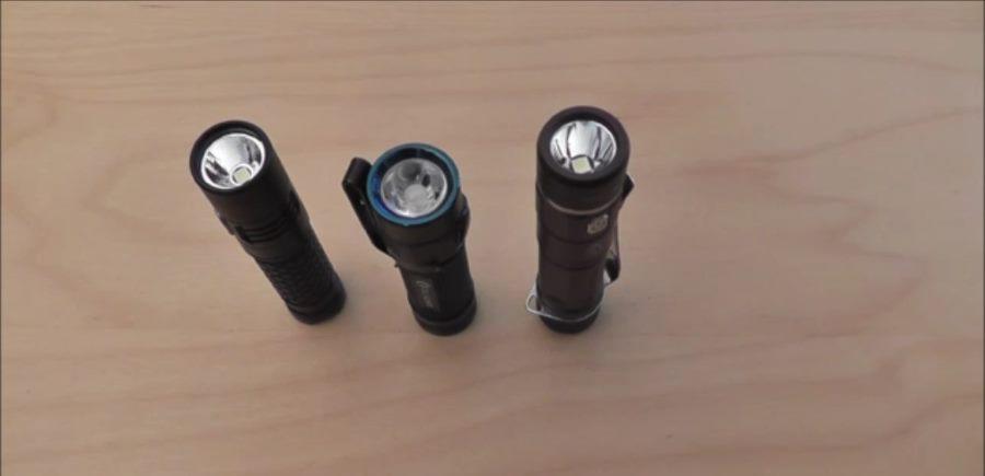 3 Mini AA LED Taschenlampen im Test
