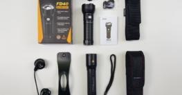 Fokussierbare LED Taschenlampen Fenix FD40 und LED Lenser P7R im Vergleichstest
