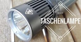 Die beste Taschenlampe