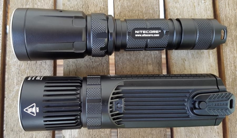 Nitecore SRT7GT und SRT9 im Vergleich