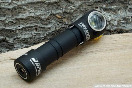 Armytek Wizard Pro USB Stirnlampe im Test
