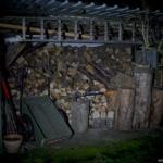 Olight H1R Beamshot Holzschuppen
