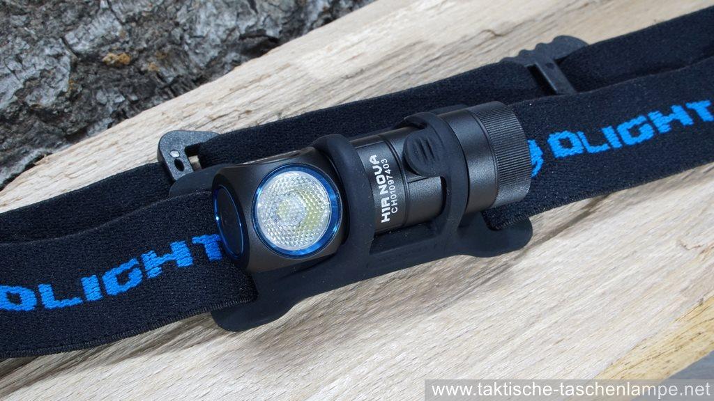 olight h1r nova stirnlampe im test review flashlight. Black Bedroom Furniture Sets. Home Design Ideas