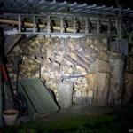Olight M2R Beamshot Holzschuppen