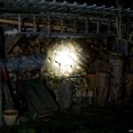 Olight M3XS-UT Javelot Beamshot Holzschuppen