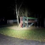 Olight R50 Pro Seeker Beamshot Spielplatz