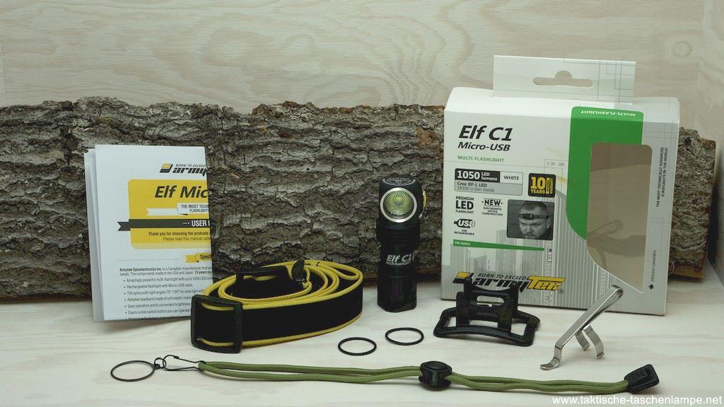 Armytek Elf C1 Micro-USB LED Taschenlampe