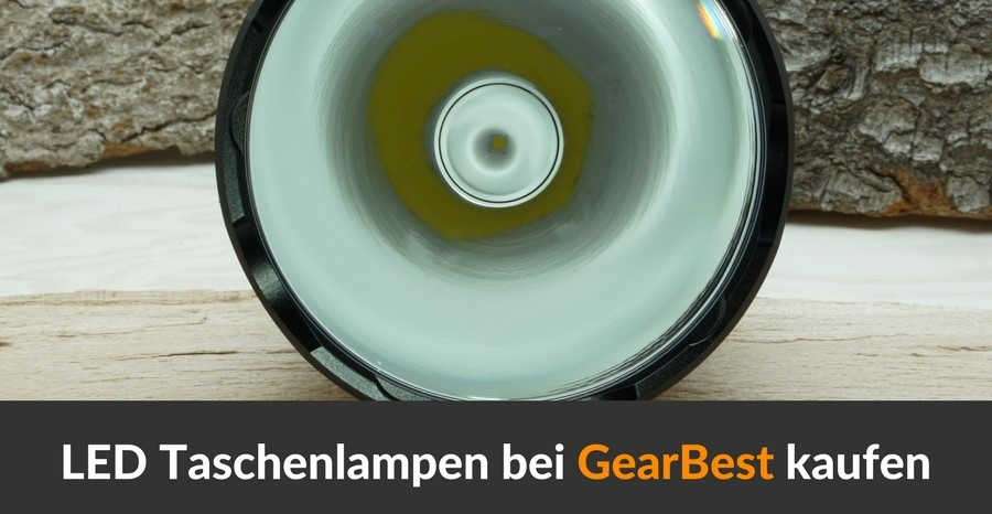 LED Taschenlampen bei Gearbest kaufen
