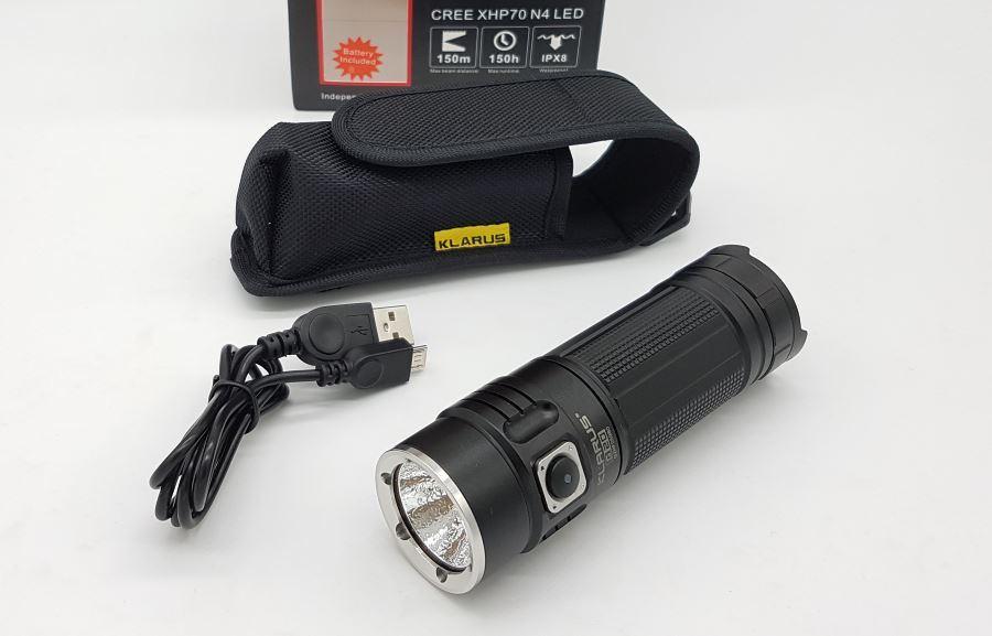 Klarus G20 LED Taschenlampe