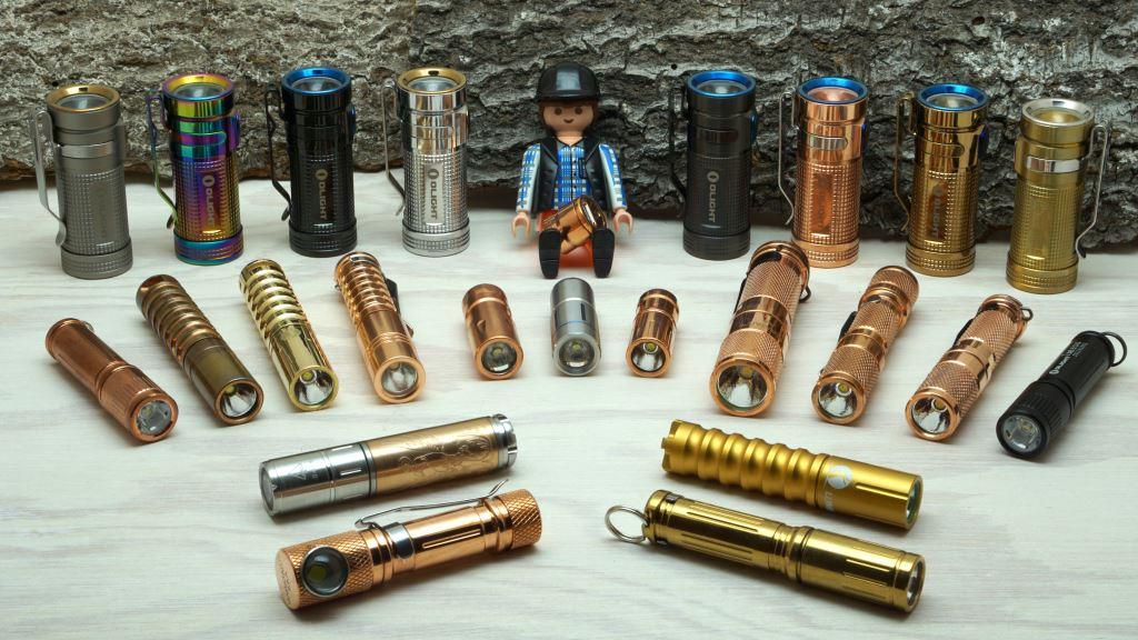 Unsere Mini Taschenlampen Sammlung