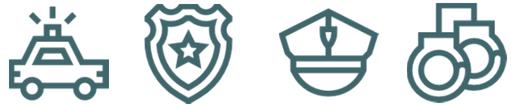 Polizei Symbole