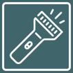 Symbol Taschenlampe