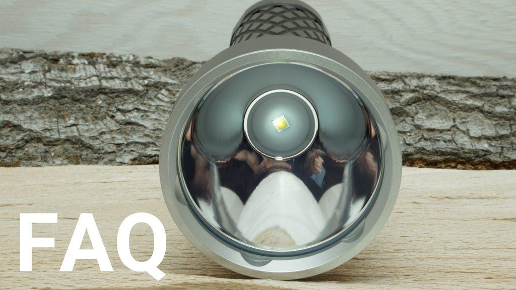 Häufig gestellte Fragen und Antworten (FAQ) rund um Taschenlampen und Stirnlampen