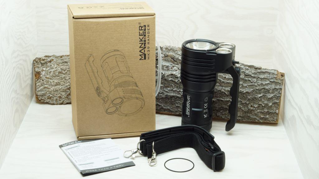 Manker MK39 Ranger LED Taschenlampe Lieferumfang
