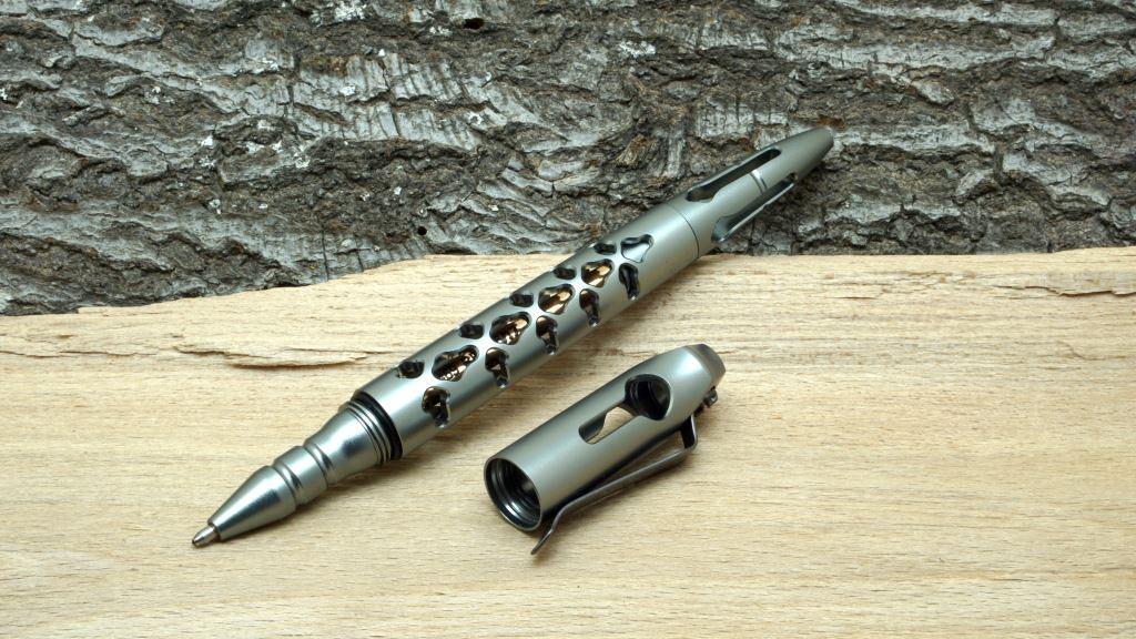 NexTool Dino Pen Tactical Pen mit abgenommener Kappe