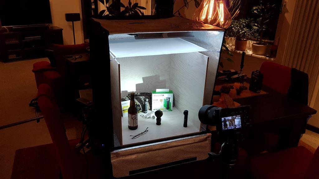 Indoor Aufnahmen LED Taschenlampen