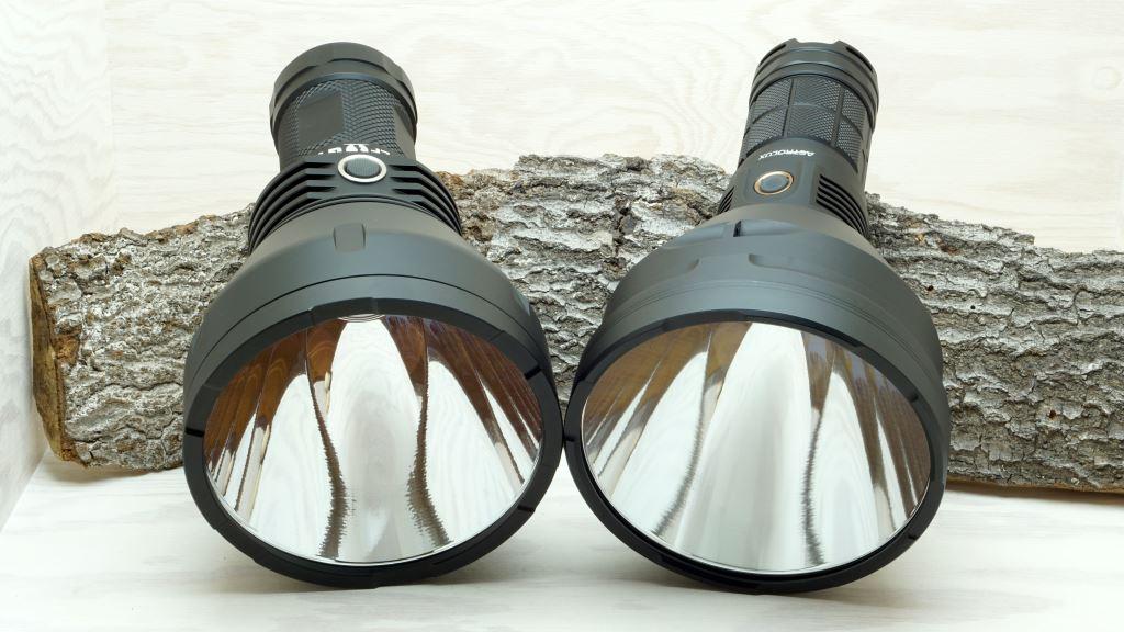 BLF GT und Astrolux MF04 - Blick in den Reflektor