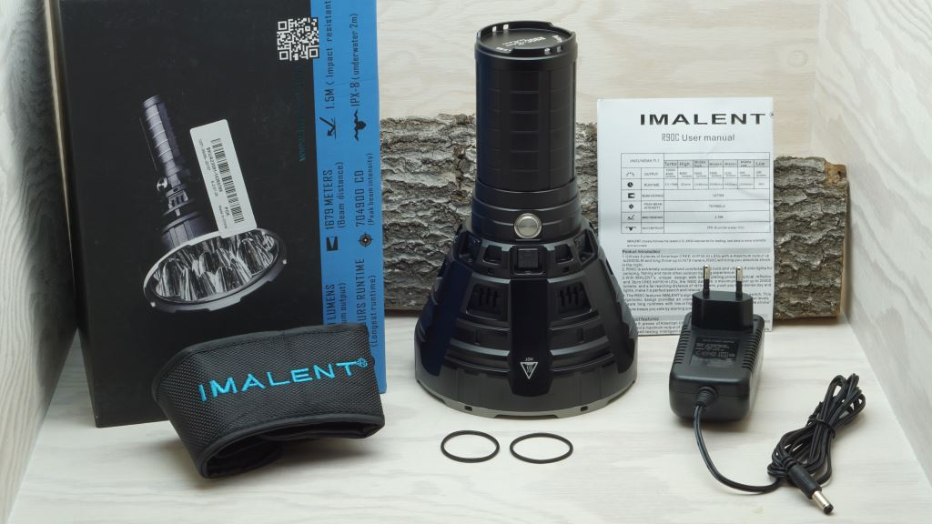 Imalent R90C Lieferumfang