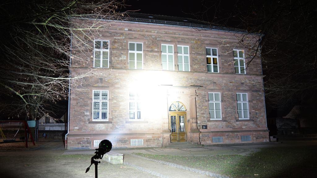 Imalent R90C leuchtet ein Museum an